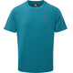 Mountain Equipment Groundup Tee Men Tasman Blue